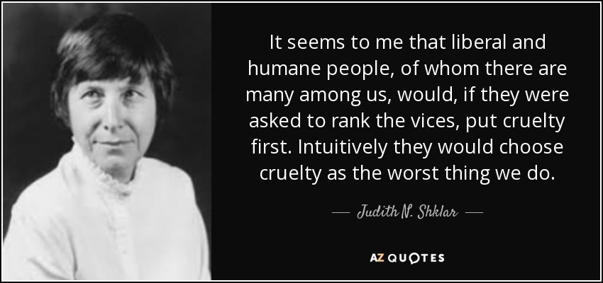 Judith Shklar